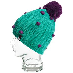 Snowboard Orage Curtain Beanie Kids Hat - Your little diva will be warm and stylish when she slides the Orage Curtain Beanie on her dome. This acrylic beanie features a soft fleece band on the inside that will keep your childs head warm and comfortable. The stylish pom on top and little poms on the rest will have your little girl looking stylish in the Orage Curtain Beanie. . Warranty: One Year, Battery Heated: No, Material: Synthetic, Lined: Yes, Type: Pom, Model Year: 2013, Product ID: 287212 - $25.00