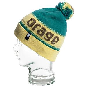 Snowboard Orage Brown Beanie Kids Hat - Keep your childs head warm and stylish with the Orage Brown Beanie. This beanie is made up of 100 percent acrylic material and lined with a fleece band to keep your childs head warm and comfortable when rocking the Brown beanie. A pom on top and cool Orage wording your little guy will be stylin and profilin when sporting the Orage Brown Beanie. . Warranty: One Year, Battery Heated: No, Material: Synthetic, Lined: Yes, Type: Pom, Model Year: 2013, Product ID: 287286 - $25.00