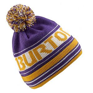 Snowboard Burton Trope Kids Hat - The Burton Trope Beanie is kinda your classic original snowboard beanie until you read the sweet name that circles your hat - Burton says it all as it sets you apart from the rest. The creative bold coloring mixes and matches with your favorite Burton Jacket. A hat brings on the coolness to any individual - pick out the hat that suits you and your on top of your game. . Warranty: One Year, Battery Heated: No, Material: Synthetic, Lined: No, Type: Pom, Model Year: 2013, Product ID: 289751, Shipping Restriction: This item is not available for shipment outside of the United States. - $21.00