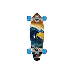 Snowboard Palisades Storm Surf Longboard - The Pallisade longboard storm surf was born and designed on the streets of Southern California, Palisades Longboards are creating a new era in longboard style and design. From Venice to Huntington, Trestles to Old Mans, Palisades longboards are inspired by the chill lifestyle of Southern California. Every Palisades longboard is made in America and features the dynamic artwork of local artists. The 2009 Summer line includes a range of decks designed by acclaimed surf artist Rick Rietveld depicting his interpretation of the iconic imagery of famous surf landmarks. Palisades decks are sold as completes and are built for riding. . Bearing Type: ABEC 5, Wheel Size: 60mm, Truck Width: 8.0in, Deck Width: 7.75in, Deck Length: 23.75in, Model Year: 2009, Product ID: 178024 - $79.99
