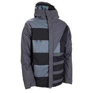 Snowboard 686 Reserved Havoc Mens Insulated Snowboard Jacket - The 686 Reserved Havoc Insulated Snowboard Jacket is extremely warm and designed for the rider who wants to show off their stuff on the mountain. Designed to keep you cozy in temperatures between zero and thirty-two, this jacket boasts 40 grams of body insulation without hindering your mobility. Utilizing InfiDRY technology you'll have the sweat and moisture accumulating inside the jacket pushed outwards so you can remain warm and dry. This technology along with critically taped seams also prevents the wintry elements from seeping inside. A double hood ensures that your head stays at your preferred temperature and a zippered chest pocket will keep your most necessary items close by and dry. With the 686 Reserved Havoc Insulated Snowboard Jacket you won't have to worry about being cold, getting wet or restricting your movements next time you slay the rails in the park. . Exterior Material: 100% Nylon Oxford and 100% Poly 3 Color Piece Dye Checked Plaid, Softshell: No, Insulation Weight: 40 Grams, Taped Seams: Critically Taped, Waterproof Rating: 10,000mm, Breathability Rating: 8,000g, Hood Type: Fixed, Pit Zip Venting: Yes, Pockets: 4-5, Electronics Pocket: Yes, Goggle/Sunglasses Pocket: No, Powder Skirt: Yes, Hood: Yes, Warranty: One Year, Use: Snowboard, Battery Heated: No, Race: No, Rain Jacket: No, Type: Insulated, Jacket Fit: Regular, Length: Medium, Insulation Type: Synthetic, Waterproof: Mild Waterproofing (5,001 - 10,000mm), Breathability: Mild Breathability (5,001 - 10,000g), Cuff Type: Velcro, Wrist Gaiter: Yes, Waterproof Zippers: No, Cinch Cord Bottom: No, Insulator: No, Model Year: 2012, Product ID: 266109, Model Number: L1W112 GUN M, GTIN: 0883510152717 - $109.95