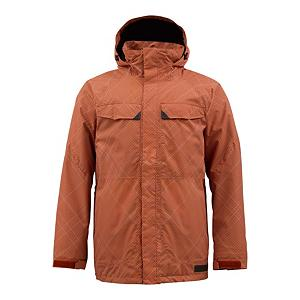 Snowboard Burton Breach Mens Insulated Snowboard Jacket - The Burton Breach Jacket is easy on the eyes and even easier on your wallet. The Burton Breach is lightly insulated with 40g Thinsulate Platinum throughout to keep you cozy. DRYRIDE Durashell 2-Layer Heathered Pinstripe Fabric shields you against water while allowing heat-robbing moisture to escape from your skin. The result is you riding comfortably dry. Critically taped seams prevent water from ninja sneaking its way in. Fulltime Contour Hood is ready to roll when flakies start to fall so you can continue to shred without a wet head. Chest Stash Pockets hold your stashables for you until you're ready for a break. Store your goggles or a spare pair in the goggle pocket and drop your mp3 player in so you can shred to your favorite Britney song. When it's time to get rad in the waist deep, use the Jacket-to-Pant interface with your favorite Burton pants and keep slashing turns. The Burton Breach Jacket is ready to intrude on the mountain with you. . Exterior Material: DRYRIDE Duracell 2-Layer Heathered Pinstripe Fabric, Insulation Weight: 40 Grams, Taped Seams: Critically Taped, Waterproof Rating: 10,000mm, Breathability Rating: 5,000g, Hood Type: Fixed, Pit Zip Venting: No, Pockets: 4-5, Electronics Pocket: Yes, Goggle/Sunglasses Pocket: Yes, Powder Skirt: Yes, Hood: Yes, Warranty: One Year, Use: Snowboard, Battery Heated: No, Race: No, Type: Insulated, Jacket Fit: Regular, Length: Medium, Insulation Type: Synthetic, Waterproof: Mild Waterproofing (5,001 - 10,000mm), Breathability: Low Breathability (< 5,000g), Cuff Type: Velcro, Wrist Gaiter: No, Waterproof Zippers: No, Cinch Cord Bottom: Yes, Insulator: No, Model Year: 2013, Product ID: 288902, Shipping Restriction: This item is not available for shipment outside of the United States., Model Number: 276390-227S, GTIN: 0886057883991 - $79.92