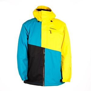 Snowboard O'Neill Theory Mens Insulated Snowboard Jacket - We have a Theory: great jackets make you a better rider. Why? Because how good do you think you can be if you're cold and wet while shredding? Get on your A game with the help of the O'Neill Theory jacket. Fully Taped Seams destroys any pathway that water can take to get into your jacket. Even the zippers are waterproof. Design with Articulation in mind preserves your mobility so get as rad as you want. Firewall mid-weight insulation keeps things toasty leaves the freeze outside. Drop your mp3 player into the Audio Pocket and start slaying the mountain to your favorite Justin Bieber jam. Goggle pocket allows you to store your specs or bring along another pair. The Adjustable Cuff is great for under or over gloves so choose wisely my friend. When the snow falls hard, lock up the Stow Snowgaiter and surf the deep stuff without a worry. Go ahead, test O'Neill's Theory jacket. It will stand up to all the scrutiny. Features: Stow Snowgaiter, Key Hook. Powder Skirt: Yes, Warranty: One Year, Cuff Type: Velcro, Wrist Gaiter: No, Waterproof Zippers: Yes, Cinch Cord Bottom: Yes, Model Year: 2013, Product ID: 290349, Shipping Restriction: This item is not available for shipment outside of the United States., Insulator: No, Breathability: High Breathability (9000g-15,000g), Waterproof: Moderately Waterproof (5000mm-19,999mm), Insulation Type: Synthetic, Length: Medium, Cut: Regular, Type: Insulated, Race: No, Battery Heated: No, Use: Snowboard, Hood: Yes, Goggle/Sunglasses Pocket: Yes, Electronics Pocket: Yes, Pockets: 4-5, Pit Zip Venting: Yes, Hood Type: Fixed, Breathability Rating: 10,000g, Waterproof Rating: 10,000mm, Taped Seams: Fully Taped, Insulation Weight: Mid-Weight Insulation, Exterior Material: Polyester - $149.99