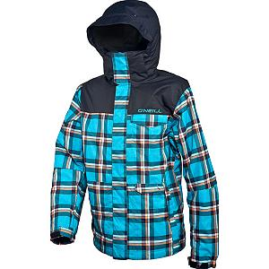 Snowboard O'Neill Grid Mens Insulated Snowboard Jacket - Your skill can't be mapped, you're off the Grid. Sound like you? Then the O'Neill Grid might just be the jacket for you. Critically Taped Seams lock the water out so no sneaky leaks here. Articulated design preserves your mobility so get corked son! Firewall heavy insulation is ready to tackle the brutal bitter cold. But if things get too warm, just open up the Armpit Venting and let the breeze fight the funk while cooling you off. Belt Connector System allow you to attach the jacket to your belt for extra security. Feel like tuning the world out? Then just drop your audio player into the Audio Pocket and tune into your favorite Selena Gomez jam. Use the Goggle Pocket to store your frames or bring an extra pair with you. Did Ullr bring the dumpage? Then lock up the Stow Snowgaiter and get some faceshots. The O'Neill Grid jacket has everything you need to fall off the map. Features: Lift Pass Pocket, Bottom Adjustment. Exterior Material: Polyester, Insulation Weight: Heavy Insulation, Taped Seams: Critically Taped, Waterproof Rating: 8,000mm, Breathability Rating: 8,000g, Hood Type: Fixed, Pit Zip Venting: Yes, Pockets: 4-5, Electronics Pocket: Yes, Goggle/Sunglasses Pocket: Yes, Powder Skirt: Yes, Hood: Yes, Warranty: One Year, Use: Snowboard, Battery Heated: No, Race: No, Type: Insulated, Cut: Regular, Length: Medium, Insulation Type: Synthetic, Waterproof: Moderately Waterproof (5000mm-19,999mm), Breathability: Moderate Breathability (4000g-8999g), Cuff Type: Velcro, Wrist Gaiter: No, Waterproof Zippers: No, Cinch Cord Bottom: Yes, Insulator: No, Model Year: 2013, Product ID: 290357, Shipping Restriction: This item is not available for shipment outside of the United States., Model Number: 250043 2920 S, GTIN: 0777221216472 - $99.91