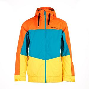 Snowboard O'Neill Royalty Mens Insulated Snowboard Jacket - Shred like a King with O'Neill's Royalty jacket. The Critically taped seams block the water out. Articulated design maximizes mobility so get rad with tweaked methods. Armpit Venting provides an option to allow the breeze to do its job when your pit regions start cooking. Belt connector system allows you to attach the jacket to your belt. Drop your mp3 player into the audio pocket and start jibbing to some fresh tunes. If you have a spare goggle, bring it along and shove it into your goggle pocket. Adjustable cuff is great for under or over gloves. Utilize the Stow Snowskirt for knee-deep days to shield yourself from the fluff. Mid-weight Firewall insulation keeps you nice and toasty so you can shred during the snowstorm. The O'Neill Royalty Jacket is worthy of Kings, but don't expect us to get you a crown. That one is up to you. Features: Lift Pass Pocket. Exterior Material: Polyester, Insulation Weight: Mid-Weight Insulation, Taped Seams: Critically Taped, Waterproof Rating: 5,000mm, Breathability Rating: 5,000g, Hood Type: Fixed, Pit Zip Venting: Yes, Pockets: 4-5, Electronics Pocket: Yes, Goggle/Sunglasses Pocket: Yes, Powder Skirt: Yes, Hood: Yes, Warranty: One Year, Use: Snowboard, Battery Heated: No, Race: No, Type: Insulated, Cut: Regular, Length: Long, Insulation Type: Synthetic, Waterproof: Moderately Waterproof (5000mm-19,999mm), Breathability: Moderate Breathability (4000g-8999g), Cuff Type: Velcro, Wrist Gaiter: Yes, Waterproof Zippers: No, Cinch Cord Bottom: Yes, Insulator: No, Model Year: 2013, Product ID: 290388, Shipping Restriction: This item is not available for shipment outside of the United States. - $119.95