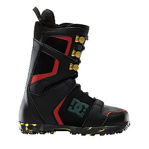 Snowboard DC Rogan Snowboard Boots - The DC Rogan Snowboard Boots has a slick design and is your traditional lace up boot built to thrash. Designed with an internal ankle harness you will have the support you demand when working your way through the park and, after working up that sweat, you'll be glad that the Bravo Liner will help keep you dry while ensuring your warmth. Direct Power Lacing can keep you tight in the boots even during your gnarliest tricks. Skate inspired for those who spend their summer times at the parks and offering up a medium flex, the DC Rogan Snowboard Boots is a high-quality investment that won't hurt the wallet. . Material: Synthetic Leather and PU Coated Mesh, Removable Liner: Yes, Flex: Medium, Warranty: One Year, Skill Range: Intermediate - Advanced, Model Year: 2012, Product ID: 256613, Gender: Mens, Skill Level: Intermediate, Brand Lacing Style: Direct Power Lacing, Intuition Liner: Yes, Recommended Use: All-Mountain Freestyle, Lacing Style: Traditional Lace - $99.94