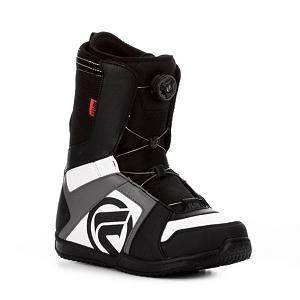 Snowboard Flow Vega Boa Snowboard Boots - Thinking about starting to snowboard or have been riding for a few years. Most importantly you have decided its time for some new boots and money is tight will does Flow have a boot for you. The Vega Boa Snowboard boots from Flow are the standard all-mountain boot, and is the everyday boot for the everyday rider looking to have a good time on the mountain in comfort and style. The micro-articulating instep flex zone eliminates pressure and wrinkling around the ankle and the Boa H3 allows for a secure and comfortable fit. You will get all the support you need in your ankle and heel with the custom flex zone adds to the fit and comfort of the Vega. Velcro positioning tabs keep your tongue in place which ensures more fit and comfort. The Vega is an all around comfortable snowboard boot. . Material: Rubber Cup Sole, Lacing Style: Boa, Recommended Use: All-Mountain Freestyle, Removable Liner: Yes, Flex: Soft, Warranty: One Year, Intuition Liner: No, Brand Lacing Style: Boa H3, Skill Range: Intermediate - Advanced, Model Year: 2013, Product ID: 280837, Gender: Mens, Skill Level: Intermediate, Model Number: FB12M6VEBOBKW, GTIN: 0845493027369 - $99.95