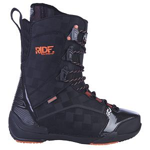 Snowboard Ride Ful Snowboard Boots - The Ful is a freestyle driven boot that takes lightweight to a whole new level with the new Phy-Top 2.0 construction, which is a phylon unibody construction that creates a super light and durable boot, also creating a lower profile boot and superior fit. With an Intuition Mobile liner and Transition Wrap Harness this boot hugs you foot in all the right places and it locks your heel down, for maximum control so you can throw those super steezy methods. The Ful is also coming with the Impacto Insole and Phy-Top 2.0 sole your landings will be soft and you will have all day comfort. The Ful offers maximum control, rebound and durability, so you can have confidence that this boot will take you where you want to go. Features: Sole: Phy-Top 2.0 Sole, Liner Lacing: Lock Down with Transition Wrap Harness. Material: Intuition Mobile Foam Liner Technology with Aegis Antimicrobial Coating, Lacing Style: Traditional Lace, Recommended Use: Freestyle, Removable Liner: Yes, Flex: Medium, Warranty: One Year, Intuition Liner: Yes, Brand Lacing Style: Traditional Lacing with 2 to 1 Internal Deep Draw, Skill Range: Advanced Intermediate - Expert, Model Year: 2013, Product ID: 281076, Shipping Restriction: This item is not available for shipment outside of the United States., Gender: Mens, Skill Level: Advanced Intermediate - $149.95