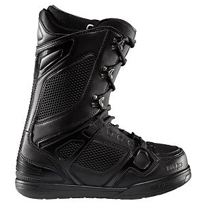 Snowboard ThirtyTwo TM Two Snowboard Boots - The Thirty Two TM Two snowboard boot is a super-light package of gnarly awesomeness, in a medium flex capable of stomping any jump. Traditional lace design takes a little longer to tighten than speed-lace boots, but lets you easily dial in tension exactly where you need it. Articulating cuff allows a smooth, kink-free flex throughout the boots range of motion. STI Evolution Foam outsole with a G2 gel heel insert improves cushioning and reduces weight compared to traditional rubber soles. Featuring the speed of a Ferrari, the control of a Porsche and the beauty of a Bentley, the TM-Two is built for performance and design for snowboarders who ride the whole mountain with style. . Material: Level 4 liner, Lacing Style: Traditional Lace, Recommended Use: All-Mountain Freestyle, Removable Liner: Yes, Flex: Medium, Warranty: One Year, Intuition Liner: Yes, Brand Lacing Style: Traditional, Skill Range: Advanced Intermediate - Expert, Model Year: 2011, Product ID: 296399, Gender: , Skill Level: Advanced Intermediate - $149.99