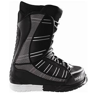 Snowboard ThirtyTwo Ultralight Snowboard Boots - Will if the name does not give it away then we will. The Thirty Two Ultralight is extreme lightweight in its construction. STI Evolution Foam is in every Thirty Two boots, with STI Evolution Foam are 15 to 40% lighter than previous seasons and remain the lightest in the industry. System G2 is a special temperature independent gel compound that helps absorb shock from impact. By eliminated unnecessary materials and beefed up the tongue and backstay to give a surprisingly supportive ride for any rider on any mountain. The Ultralight Boot is continuing to shape the future of snowboarding boots . Material: Level 5 Liner, Lacing Style: Traditional Lace, Recommended Use: All-Mountain Freestyle, Removable Liner: Yes, Flex: Medium, Warranty: One Year, Intuition Liner: Yes, Brand Lacing Style: Traditional, Skill Range: Advanced Intermediate - Expert, Model Year: 2011, Product ID: 296405, Gender: , Skill Level: Advanced Intermediate - $149.94