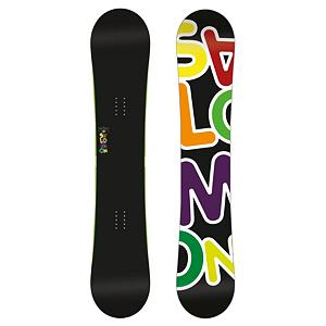 Snowboard Salomon Drift Rocker Wide Snowboard - If you are looking for the stability of a traditional camber with catch free versatility of reverse camber then look no further than the Salomon Drift Rocker. The Drift Rocker has been designed for improved park performance with a perfect twin shape. It also features royal rubber pads which protect your edges and make for nice soft, smooth landings. The Drift Rocker will have you getting loose with confidence on everything. Also features all black graphics for a dark, sleek look. The Salomon Drift Rocker Snowboard has a Pre-sure Rocker. Comes in wide sizes for the shredder with bigger feet. . Actual Turn Radius @ Specified Length: 7.8m (158cm), Base Name: Extruded EG, Core Name: Aspen Light, Stance Width: 606-636mm, Stance Setback: Centered, Special Features: Rubber Pads, Construction Type: Sidewall Construction, Base Material: Extruded P-tex, Warranty: One Year, Skill Range: Beginner - Advanced Intermediate, Model Year: 2012, Product ID: 235598, Gender: Mens, Skill Level: Beginner, Magnatraction: No, Hole Pattern: Standard 4 Hole, Core Material: Wood, Rocker Type: Pres-sure Rocker, Board Width: Wide, Pipe Oriented: No, Flex: Soft, Shape: Twin, Rocker Profile: Rocker, Special Features: Equalizer Sidecut, Waist Width: 253mm (158cm), Recommended Use: Freestyle - $169.94