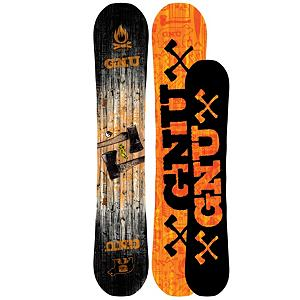 Snowboard Gnu Riders Choice C2PBTX Snowboard 2013 - The GNU Riders Choice C2PBTX was been revamped this year with a new look and new awesomeness. There is a reason this is called The Riders Choice and your about to find out why. It all starts with an all-terrain freestyle pickle is well refined and tested on every feature the mountain has to offer. Pickle technology gives balance in the turning mechanics of heelside and toeside by creating different sidecuts for each. C2 Banana Camber provides endless float in powder and confidence booster in the park and hitting backcountry booters. You can enjoy the Riders Choice 3cm shorter then your normal size board. It truly is amazing when your park board is your powder board and your powder board is your jib board. The GNU Riders Choice proves yet again that the name holds true to its value. . Actual Turn Radius @ Specified Length: 7.7m Heel and 8.1m Toeside, Base Name: Sintered Base, Core Name: AG1 Sustainable Woodcore, Recommended Use: All-Mountain Freestyle, Waist Width: 248mm(@154cm), Stance Width: 20.25-25in, Stance Setback: Centered, Special Features: Quasi Glass, Rocker Profile: Rocker with Camber, Shape: Twin, Flex: Medium, Pipe Oriented: Yes, Board Width: Regular, Rocker Type: C2PBTX Asym Banana Camber, Core Material: Wood, Construction Type: Sidewall Construction, Hole Pattern: Standard 4 Hole, Magnatraction: Yes, Base Material: Sintered P-tex, Warranty: One Year, Skill Range: Advanced Intermediate - Expert, Model Year: 2013, Product ID: 270906, Shipping Restriction: This item is not available for shipment outside of the United States., Gender: Mens, Skill Level: Advanced Intermediate - $369.95