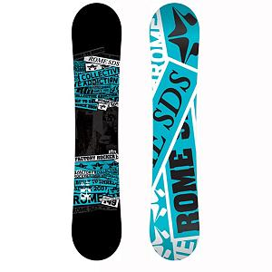 Snowboard Rome Factory Rocker Snowboard - The Rome Factory Rocker Snowboard is raw power with blitzkrieg pop for the working class. The Quickrip Sidecut technology lets the board ride loose and playful at slow speeds, and powerful and precise at higher speeds. Bambooster technology is a center milled, eco-friendly, bamboo rods inserted under the bindings and out towards the nose and tail for an earth friendly response. Glass V Stringer technology radiates from the binding region to the contact points for added pop and edge control. Throw in Mtnpop Rocker between the feet with positive camber in the nose and tail to deliver a fine blend of powder float, freestyle playfulness, and all-mountain power pop. The Factory Rocker comes with a Pop Core Matrix which is smooth flexing that kicks back energy when you lay into it. . Actual Turn Radius @ Specified Length: 8m(155cm), Base Name: XTRD Base, Core Name: Pop Core Matrix, Recommended Use: All-Mountain Freestyle, Waist Width: 250mm(155cm), Stance Width: 20-25in, Stance Setback: Centered, Special Features: Bambooster Technology, Rocker Profile: Rocker with Camber, Shape: Twin, Flex: Medium, Pipe Oriented: No, Board Width: Regular, Rocker Type: Reverse MTNPOP, Core Material: Wood, Construction Type: Sidewall Construction, Hole Pattern: Standard 4 Hole, Magnatraction: No, Base Material: Extruded P-tex, Warranty: Two Year, Skill Range: Beginner - Advanced Intermediate, Model Year: 2013, Product ID: 271168, Gender: Mens, Skill Level: Beginner - $229.99