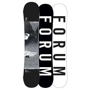 Snowboard Forum Destroyer DoubleDog Snowboard - Double the destruction with the Forum Destroyer DoubleDog snowboard. With camber sections under your feet for power and pop and rocker between the bindings and in the nose and tail, the DoubleDog with Pop profile makes for a forgiving, park-slaying ride. Newly added Car Bombs elevates ollies and takes your game to the next level of freestyle by adding two fiberglass inlays running from the tip and tail and stopping just outside your bindings. To further pump up your park experience, Swinger's Club will help save weight without sacrificing durability. From heavy-metal kinks to massive kickers, you've got the power and playfulness only a Destroyer DoubleDog can deliver. Destroy the ordinary and set your own rules. . Actual Turn Radius @ Specified Length: 7.6m(154cm), Base Name: Formula Base, Core Name: GnarLE with Car Bomb, Recommended Use: Freestyle, Waist Width: 248mm (154cm), Stance Width: 22-23in, Stance Setback: Centered, Special Features: Car Bomb, Rocker Profile: Rocker with Camber, Shape: Twin, Flex: Medium, Pipe Oriented: No, Board Width: Regular, Rocker Type: DoubleDog with Pop, Core Material: Wood, Construction Type: Sidewall Construction, Hole Pattern: Standard 4 Hole, Magnatraction: No, Base Material: Sintered P-tex, Warranty: One Year, Skill Range: Advanced Intermediate - Expert, Model Year: 2013, Product ID: 271423, Gender: Mens, Skill Level: Advanced Intermediate - $269.95