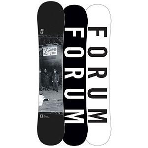 Snowboard Forum Destroyer DoubleDog Wide Snowboard - Double the destruction with the Forum Destroyer DoubleDog Wide snowboard. With camber sections under your feet for power and pop and rocker between the bindings and in the nose and tail, the DoubleDog with Pop profile makes for a forgiving, park-slaying ride. Newly added Car Bombs elevates ollies and takes your game to the next level of freestyle by adding two fiberglass inlays running from the tip and tail and stopping just outside your bindings. To further pump up your park experience, Swinger's Club will help save weight without sacrificing durability. From heavy-metal kinks to massive kickers, you've got the power and playfulness only a Destroyer DoubleDog can deliver. Destroy the ordinary and set your own rules. . Actual Turn Radius @ Specified Length: N/A, Base Name: Formula Base, Core Name: GnarLE with Car Bombs, Stance Width: 22-23in, Stance Setback: Centered, Special Features: Car Bombs, Core Material: Wood, Construction Type: Sidewall Construction, Base Material: Sintered P-tex, Warranty: One Year, Skill Range: Advanced Intermediate - Expert, Model Year: 2013, Product ID: 271426, Gender: Mens, Skill Level: Advanced Intermediate, Magnatraction: No, Hole Pattern: Standard 4 Hole, Rocker Type: DoubleDog with Pop, Board Width: Wide, Pipe Oriented: No, Flex: Medium, Shape: Twin, Rocker Profile: Rocker with Camber, Waist Width: 254mm@ (156W), Recommended Use: Freestyle - $269.95