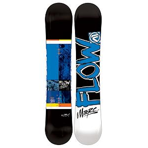 Snowboard Flow Merc Snowboard - Is it time to retire you old cap hand-me-down board for something with a little bit more style without breaking the bank. The Flow Merc is the perfect all-mountain snowboard for any snowboarder. The Merc by Flow comes to you with all-new base geometry that offers a slightly convex base for more forgiving turns. Combined with a super mellow EZ-Rock slight reverse camber in between your feet with camber underneath your feet for super easy turning while still giving you a nice, poppy flex. Rocker Bands of carbon are placed in the board for a smoother ride. Flows tried and true EZDT sidecut unleashes the best in any rider, for easier progression. Designed so you can feel limitless on the hill, while knowing there are no more boundaries based on your budget. The Flow Merc is budget boarding at its very best. Optix 2000 Base is easy to maintain so you can spend more time on the hill and less money on wax. The Flow Merc is going to get the job done at a fraction of the cost of other snowboards with this technology. So get out and Merc something . Skill Range: Beginner - Advanced Intermediate, Model Year: 2013, Product ID: 280827, Gender: Mens, Skill Level: Beginner, Warranty: One Year, Base Material: Extruded P-tex, Magnatraction: No, Hole Pattern: Standard 4 Hole, Construction Type: Sidewall Construction, Core Material: Wood with Carbon, Rocker Type: EZ-Rock, Board Width: Regular, Pipe Oriented: No, Flex: Medium, Shape: Directional, Rocker Profile: Rocker with Camber, Special Features: Rocker Bands, Stance Setback: 1.5cm, Stance Width: N/A, Waist Width: 241mm(153cm), Recommended Use: All-Mountain, Core Name: TruFlex Core with Rocker Bands, Base Name: Optix 2000, Actual Turn Radius @ Specified Length: 7.6m(153cm) - $199.95