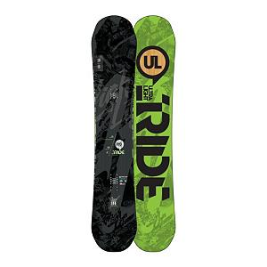 Snowboard Ride Highlife UL Snowboard 2013 - Pop the top on the Highlife UL from Ride. It is an intoxicating ride for those big time all mountain chargers. New this year are the Popwalls which give you the smooth ride of Slimewalls and maximum response, grip, and stability by adding carbon to the outside edge of the board. The Highlife UL also features the Hybrid All Mountain rocker shape which gives you a loose playful rocker in the tip, giving you a board that is easy to send into a turn and then an ultra grippy, stable micro camber zone under foot all the way to the tail. This board comes complete with all the UL techs, an ultra-light urethane Membrain top sheet and Carbon Array 5, so it has got that going for it which is nice. This deck is truly an all mountain masterpiece that rides effortlessly in pow, is fun cruising with your lady friend on the groomers or maching laps a warp speed. Features: Membrain Top Sheet: weighing less than half of traditional plastic top sheets, Membrain maintains a smooth feel by infusing urethane into fabric, 2x4 Inserts. Actual Turn Radius @ Specified Length: 7.5m (@158cm), Base Name: UL Base, Core Name: UL Core with Silencer 5, Recommended Use: All-Mountain Freestyle, Waist Width: 252mm (@158cm), Stance Width: 559mm, Stance Setback: 3/4 Inch, Special Features: Silencer 5 and Carbon Array 5, Rocker Profile: Rocker with Camber, Shape: Directional, Flex: Very Stiff, Pipe Oriented: No, Board Width: Regular, Rocker Type: Hybrid All Mountain Rocker, Core Material: Wood with Carbon, Construction Type: Sidewall Construction, Hole Pattern: Standard 4 Hole, Magnatraction: No, Base Material: Sintered P-tex, Warranty: One Year, Skill Range: Advanced - Pro, Model Year: 2013, Product ID: 280946, Shipping Restriction: This item is not available for shipment outside of the United States., Gender: Mens, Skill Level: Expert - $349.95