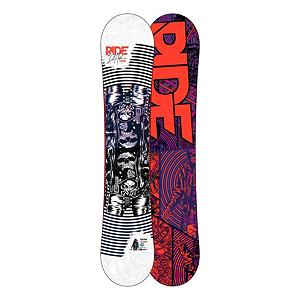 Snowboard Ride DH2 Snowboard - The DH2 is the board for those of you who are constantly searching for the bigger high. The DH2 features Hybrid Twin rocker which combines a micro rocker in the tip and tail to provide a hook free ride and a micro camber zone between the feet for more snap and to amplify the pop factor of this board, it will take your ollie power to the next level. The DH2 is the sword you need to slay features and dragons as well as stomp big landings. Add to that the latest in sidewall technology the DH2 has Popwalls that combine the trusted Slimewall technology with proven carbon to give this deck next level response. Not to mention a urethane Membrain top sheet and Carbon Array 5, you are getting a lightweight poppy deck that will make you king of the mountain. Features: Membrain Top Sheet: weighing less than half of traditional plastic top sheets, Membrain maintains a smooth feel by infusing urethane into fabric., 2x4 Inserts. Actual Turn Radius @ Specified Length: 7.65m (@155cm), Base Name: Fusion 4000, Core Name: Pop Rods 2.0, Recommended Use: All-Mountain Freestyle, Waist Width: 251mm (@155cm), Stance Width: 533-559mm, Stance Setback: Centered, Special Features: PopWalls, Rocker Profile: Rocker with Camber, Shape: Twin, Flex: Stiff, Pipe Oriented: Yes, Board Width: Regular, Rocker Type: Hybrid Twin Rocker, Core Material: Wood with Carbon, Construction Type: Sidewall Construction, Hole Pattern: Standard 4 Hole, Magnatraction: No, Base Material: Sintered P-tex, Warranty: One Year, Skill Range: Advanced Intermediate - Expert, Model Year: 2013, Product ID: 280955, Shipping Restriction: This item is not available for shipment outside of the United States., Gender: Mens, Skill Level: Advanced Intermediate - $349.95