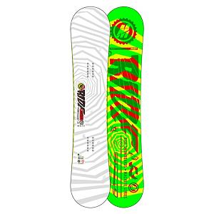 Snowboard Ride Machete Wide Snowboard 2013 - You will be making slash after slash all over the mountain with the Ride Machete Wide. A wider waist width allows riders with a larger foot to ride a board and not have to worry about the dreaded toe drag. The Machete Wide features Rides LowRize rocker shape which will eliminate hook and makes this deck super easy to use. The Pop Rods 1.0 Core gives the board an extra dose of pop to help turn that 360 into a 540 and a landing so smooth you will think you were landing on a cloud. Couple that with smooth riding slimewalls and durable Cleave Edge for a fun surfy twin that will let you rock out with your pop out. Features: 2x4 Inserts. Actual Turn Radius @ Specified Length: 7.3m (@157cm), Base Name: Fusion 4000, Core Name: Pop Rods 1.0, Recommended Use: All-Mountain Freestyle, Waist Width: 261mm (@157cm), Stance Width: 559mm, Stance Setback: Centered, Special Features: Carbon Array 3, Rocker Profile: Rocker, Shape: Twin, Flex: Medium, Pipe Oriented: No, Board Width: Wide, Rocker Type: LowRize Rocker, Core Material: Wood with Carbon, Construction Type: Sidewall Construction, Hole Pattern: Standard 4 Hole, Magnatraction: No, Base Material: Sintered P-tex, Warranty: One Year, Skill Range: Advanced Intermediate - Expert, Model Year: 2013, Product ID: 280969, Shipping Restriction: This item is not available for shipment outside of the United States., Gender: Mens, Skill Level: Advanced Intermediate - $321.98
