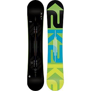 Snowboard K2 Slayblade Snowboard 2013 - The K2 Slayblade has been sent back to armory for a weapons upgrade for 2013. Flatline Tweekends tip profile increases the amount of stability while Harshmellow under you bindings keeps the board quiet while it slays the mountain. Bambooyah Blend wood core with the added Ollie Bar, preloaded camber pop is positioned between your feet giving riders stronger Ollies and pressing power regardless of their rocker profile. The K2 Slayblade is the weapon of choice for any aggressive rider looking for a stiffer board that is able to slay anything, anywhere on the mountain. . Actual Turn Radius @ Specified Length: 8m (@158cm), Base Name: 0 Sintered- Highest quality base, lightweight, ultra thin static base, Core Name: Bambooyah Blend WH4 Carbon Ollie Bar, Recommended Use: All-Mountain, Waist Width: 252mm(158cm), Stance Width: 22-23mm, Stance Setback: .75cm, Special Features: Harshmellow Dampening, Rocker Profile: Flat, Shape: Directional Twin, Flex: Stiff, Pipe Oriented: No, Board Width: Regular, Rocker Type: Flatline, Core Material: Wood with Carbon, Construction Type: Sidewall Construction, Hole Pattern: Standard 4 Hole, Magnatraction: No, Base Material: Sintered P-tex, Warranty: Two Year, Skill Range: Advanced - Pro, Model Year: 2013, Product ID: 281652, Shipping Restriction: This item is not available for shipment outside of the United States., Gender: Mens, Skill Level: Expert - $379.95