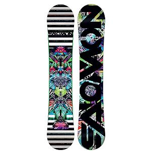Snowboard Salomon Acid Blem Snowboard - The Salomon Acid combines face-melting performance with graphics that will make your brain bleed and you've got Acid. The Acid starts with Press-Sure Rocqualizer which blends three straight lines (instead of the traditional curved sidecut) for hook-free turning and easy entry and exit with each turn. Also added in the mix isPopster, Popster uses different thicknesses to shape the wood core profile and give the board added snap in areas were needed. Finally to mellow out that trip you have the amazing Royal Rubber Pads which allows the4 Acid to hit rails and absorb impacts, reduce chatter, and protect your edges from rails' nasty bites. The Salomon Acid is truly a one of a kind experience that will leave you thinking, did that just really happen. . Actual Turn Radius @ Specified Length: 8m(@151cm), Base Name: Sintered, Core Name: Aspen Light, Recommended Use: Freestyle, Waist Width: 247mm(151cm), Stance Width: 20-24.6in, Stance Setback: Centered, Special Features: Royal Rubber Rails, This is a Blemish Item: This blemish/factory second item is new and may have a cosmetic imperfection such as a scuff or scratch. The blemish is guaranteed to be minor & non-structural. Most blemishes are so minor; they are not noticeable even when looking for the imperfection., Rocker Profile: Rocker, Shape: Twin, Flex: Soft, Pipe Oriented: No, Board Width: Regular, Rocker Type: Pres-Sure Rocqualizer, Core Material: Wood, Construction Type: Sidewall Construction, Hole Pattern: Standard 4 Hole, Magnatraction: No, Base Material: Sintered P-tex, Warranty: One Year, Skill Range: Advanced Intermediate - Expert, Model Year: 2012, Product ID: 284100, Gender: Mens, Skill Level: Advanced Intermediate - $249.95