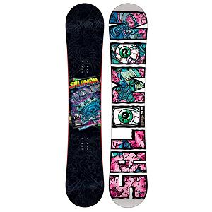 Snowboard Salomon Riot Wide Snowboard - If your last riot involved sirens, tear gas, and police will you are in for a treat this time around with the Salomon Riot. This rambunctious snowboard has one thing on its mind, fun in the park. Flat profile for catch free 270 spins on rails or throwing down on your favorite jump the Riot has you covered, the Riot's classic twin shape, Radial sidecut and Popster make it as easy going as you would like to be. The Salomon Riot is such a fun board no riot shields are needed, also available in wides for extra riot fun. . Actual Turn Radius @ Specified Length: 8.2m(@159W), Base Name: Sintered, Core Name: Aspen Strong, Stance Width: 20-25.8in, Stance Setback: Centered, Special Features: Royal Rubber Rails, Core Material: Wood, Construction Type: Sidewall Construction, Base Material: Sintered P-tex, Warranty: Two Year, Skill Range: Intermediate - Advanced, Model Year: 2012, Product ID: 284155, Gender: Mens, Skill Level: Intermediate, Model Number: L127031 159, Magnatraction: No, Hole Pattern: Standard 4 Hole, Rocker Type: Flat Profile, Board Width: Wide, Pipe Oriented: No, Flex: Soft, Shape: Twin, Rocker Profile: Flat, Waist Width: 260mm(@159W), Recommended Use: Freestyle - $149.91