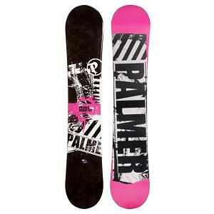 Snowboard Palmer Basic Rocker Pink Snowboard - The Palmer Basic Rocker Pink Snowboard boasts a rocker profile so you can ride with a playful and floaty board under your feet. This entry-level board is great as a first board when you rented a couple times and are really ready to dive into snowboarding. Even if it's your first time ever on a snowboard, the forgiving and playful rocker will help build you confidence and skills so you can soon head to the top of the mountain and ride the whole way down while showing off some of your latest tricks. . Recommended Use: All-Mountain, Rocker Profile: Rocker, Flex: Soft, Core Material: Wood, Construction Type: Cap Construction, Warranty: One Year, Skill Range: Beginner - Advanced Intermediate, Product ID: 296975, Gender: Mens, Skill Level: Beginner - $99.99