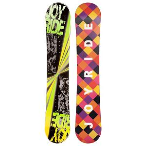 Snowboard JoyRide Burst Green Snowboard - The JoyRide Burst Green Snowboard is an entry-level board that offers plenty of pop and a strong edge hold so you can get the basics of snowboarding down and grow confidently into the next skill level. Its Camber profile is more controlled than a rocker so you'll be able to increase you skills while also enjoying the day on the mountain. Those winter days when the snow is falling shouldn't be spent indoors. Get on a JoyRide Burst Green Snowboard and start the winter with some shredding. . Rocker Profile: Camber, Shape: Directional, Flex: Soft, Core Material: Wood, Construction Type: Cap Construction, Hole Pattern: Standard 4 Hole, Magnatraction: No, Warranty: One Year, Skill Range: Beginner - Intermediate, Product ID: 297029, Gender: Mens, Skill Level: Beginner, Model Number: 43 SB 12, Board Width: Regular, Pipe Oriented: No, Recommended Use: All-Mountain - $129.92