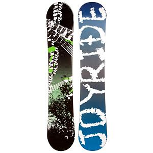 Snowboard If you're an entry-level snowboarder looking to get better and gain the skills to take on the harder trails, then the JoyRide Bush Green Snowboard can help you get there.  It has a Camber profile so you will have a more controlled board that is easy to learn on and provides you with better edge hold.  It's a bit poppy so you can work on some of those new tricks you've been wanting to test out too.  Don't waste another dollar renting a snowboard, get your own and conquer the mountain with the JoyRide Bush Green Snowboard.  Snowboard Best Use: All-Mountain, Rocker Profile: Camber, Flex: Soft, Core Material: Wood, Construction Type: Cap Construction, Warranty: One Year, Skill Range: Beginner - Advanced Intermediate, Product ID: 297043, Gender: Mens, Skill Level: Beginner, Model Number: 134 SB 12 - $149.99