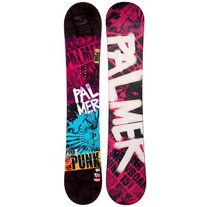 Snowboard Palmer Punk Pink Rocker Snowboard - If you want an entry-level board that will help you progress your skills and give you the confidence to head into a variety of territories than the Palmer Punk Pink Rocker Snowboard is the one for you. It boasts a cool design and has a rocker profile so that you can pick up your skills on a very forgiving board. You'll be able to float in some of the powder and have an easier time initiating turns. This will help you get used to a variety of conditions so that you can practice and perfect your snowboarding and soon roll with the pros at the top of the mountain. The best part about owning your own board is the consistency so you can get used to and learn easier plus you don't have to stand in line at the rental place eating up prime shredding time. So grab the Palmer Punk Pink Snowboard and start progressing to higher levels. . Recommended Use: All-Mountain, Rocker Profile: Rocker, Shape: Directional, Flex: Soft, Pipe Oriented: No, Core Material: Wood, Construction Type: Sidewall Construction, Hole Pattern: Standard 4 Hole, Magnatraction: No, Base Material: Extruded P-tex, Warranty: One Year, Skill Range: Beginner - Advanced Intermediate, Product ID: 297322, Gender: Mens, Skill Level: Beginner - $179.99