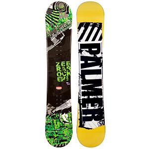 Snowboard Palmer Zebra Green Snowboard - The Palmer Zebra Green Snowboard is a cool entry-level board for those just starting out and wanting to get a good hold on the art of snowboarding. It boasts some great features to help you learn the basics so that you can soon test out your new found abilities on a little more challenging terrain. You'll have a camber profile which is perfect for nailing down the turns. You'll have a solid edge hold and great response with this Palmer Zebra Green Snowboard. There's a little bit of pop too to increase the playfulness so you can begin working on some small jumps. There are some good benefits to owning a board as opposed to renting especially when trying to increase your skill level. Just having a board you're used to and calling your own is a great benefit. But also, you save time and money. Lift tickets aren't cheap so why spend part of the day waiting to get fitted for a board? With the Palmer Zebra Green Snowboard you can expect a quality board with a lot of value and fun so your mountain experience can be great. . Recommended Use: All-Mountain, Rocker Profile: Camber, Shape: Directional, Flex: Soft, Pipe Oriented: No, Core Material: Wood, Construction Type: Cap Construction, Hole Pattern: Standard 4 Hole, Magnatraction: No, Base Material: Extruded P-tex, Warranty: One Year, Skill Range: Beginner - Advanced Intermediate, Product ID: 297507, Gender: Mens, Skill Level: Beginner - $99.99