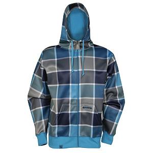 Snowboard Ripzone Primary Mens Hoodie 2012 - This warm and sporty Ripzone Primary Hoodie lives up to snowboarders high standards of quality, durability and style. Ripzone has fashion forward design that also utilize the best apparel technology for all of your winter activity needs. Always pushing the envelope, Ripzone provides hoodies, jackets and pants made out of new eco materials to keep our planet healthy and happy. Ripzone clothing is reliable, stylish and always ready for the toughest of conditions. This full zip checkerboard hoodie is made of 100% polyester with ribbed cuffs and waist for a custom fit each time that it is worn. Other features include two front pouch pockets along with a lined hood for additional warmth when needed. A must have and a benefit for your wardrobe to keep you protected and cozy indoors and outdoors all winter long. . Hood Type: Fixed, Material: 100% Polyester, Fleece Weight: Mid, Category: Heavy-Weight, Hood: Yes, Warranty: Other, Battery Heated: No, Type: Hooded, Wind Protection: Yes, Type: Hoodies, Weatherproof: Yes, Material: Synthetic, Pockets: 1-2, Wicking Properties: No, Type: Long Sleeve, Water Resistant: No, Model Year: 2012, Product ID: 250586 - $29.95