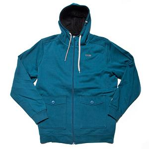 Snowboard Orage Flee Fleece Hoodie - The outside of the Orage Flee Full Zip Hoodie looks like a classic sweatshirt with a dash of extra pizzazz. The pockets make the difference, not your ordinary slide your hand in pocket. The inside has piled high fleece that warms your bones and feels buttery smooth against your skin. Warm, cozy and sweet to look at - this will be your go to hoodie for all the appropriate moments. Features: Rib-knit cuffs and hem. Hood Type: Fixed, Material: Cotton/Polyester, Fleece Weight: Heavy, Category: Heavy-Weight, Hood: Yes, Warranty: One Year, Battery Heated: No, Closure Type: Full Zip Top, Wind Protection: Yes, Type: Hoodies, Weatherproof: No, Material: Cotton, Pockets: 3-4, Wicking Properties: No, Sleeve Type: Long Sleeve, Water Resistant: No, Model Year: 2012, Product ID: 264784, Model Number: ASM0002 B111 L, GTIN: 0882111188347 - $29.95