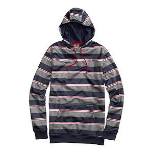 Snowboard Burton Cymbal Pullover Hoodie - Cotton Hoodies blow chunkies like a bad night. They get wet then freeze leaving you chilly like a popsicle. The Burton Cymbal Pullover Hoodie is here to change all of that. The Cymbal features DRYRIDE Thermex Bonded Hard-Surface Fleece that keeps you dry with water resistance while letting the sweat vapors escape. Flip the Hood up when ish starts to fall to keep your head dry. Shove your hands into the Kangaroo Handwarmer Pockets when they get cold or use it to stash your goods. Hidden Side Seam Stash Pocket is there for your extra special goodies. You may want to throw all of your other hoodies out after grabbing the Burton Cymbal Pullover Hoodies. . Warranty: One Year, Battery Heated: No, Wicking Properties: Yes, Sleeve Type: Long Sleeve, Model Year: 2013, Product ID: 288743, Shipping Restriction: This item is not available for shipment outside of the United States., Water Resistant: Yes, Pockets: 1-2, Material: Bonded Fleece, Type: Hoodies, Wind Protection: Yes, Closure Type: Pull Over, Hood: Yes, Material: DRYRIDE Thermex Bonded Hard-Surface Fleece, Hood Type: Fixed - $41.93