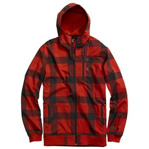 Snowboard Burton Softshell Hoodie - The Burton Softshell Hoodie is versatile and will keep you protected in a variety of conditions. With its DRYRIDE Softshell fabric, you can wear this hoodie as a layer on those cold days when you're out shredding on the mountain or wear it as a jacket on those cool fall evenings. You'll have plenty of warmth and weather protection either way. The Softshell Hoodie's Airtech technology brings you great waterproofness and excellent breathability, and combined with its stretch fabric, you'll have complete ease of mobility. If you are working up a sweat you can cool down by opening up the Pit Zips and a Fulltime Hood keeps you extra warm on the coldest of days. Fleece lined for extreme comfort, the Burton Softshell Hoodie will keep you comfy when the weather isn't cooperating. Features: Zippered Chest Pocket, AirTech Technology. Hood Type: Fixed, Category: Mid-Weight, Bearing Grade: Performance, Hood: Yes, Warranty: One Year, Battery Heated: No, Closure Type: Full Zip Top, Wind Protection: No, Type: Hoodies, Material: Synthetic, Pockets: 3-4, Wicking Properties: No, Sleeve Type: Long Sleeve, Water Resistant: Yes, Model Year: 2013, Product ID: 288753, Shipping Restriction: This item is not available for shipment outside of the United States., Model Number: 275699-609S, GTIN: 0886057802503, Material: DRYRIDE Stretch Softshell AirTech Fabric - $64.93