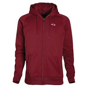 Snowboard Oakley Protection II Hoodie - When rain starts to fall its very beneficial to have a top that will keep you dry, with that in mind Oakley has brought back the Protection II Hoodie for another year. This hoodie is polyester and spandex full zip top that features a DWR finish that will repel water to keep you dry should the rain start to fall. The Protection II hoodie features articulated sleeves that will allow for freedom of movement and two hand pockets on the front allow you to slip your hands in to keep them warm or store some of your belongings. For a little extra style the Oakley Protection II hoodie features embroidered logos on the front and back for a little stylish flair. . Insulation Weight: 200g, Hood Type: Fixed, Material: Polyester/Spandex, Fleece Weight: Mid, Category: Mid-Weight, Hood: Yes, Warranty: One Year, Battery Heated: No, Closure Type: Full Zip Top, Wind Protection: No, Type: Hoodies, Material: Synthetic, Pockets: 1-2, Wicking Properties: No, Sleeve Type: Long Sleeve, Water Resistant: Yes, Model Year: 2013, Product ID: 291732 - $44.95
