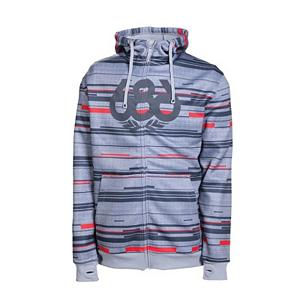 Snowboard 686 Streak Bonded Tech Fleece - Mens Hoodie - A soft, non-pilling micro fleece hoodie that has been treated with an antimicrobial coating to keep this 686 Streak Bonded Tech Fleece smelling fresh no matter what your favorite activities are. The fabric has also been treated with 50+ ultra violet protection, so you will be looking stylish, odor free and protected from the sun. This 686 Streak Bonded Tech Fleece is soft, comfortable and made from a poly knit jersey face with a bonded brushed fleece back combined for durability, style and comfort. Other features include the embroidered underarm eyelets, thumbhole cuff openings, the ribbed cuffs and hem band to keep this hoodie from riding upwards. There is an inner zipper flap with chin guard should the temperatures change rapidly and last is the hidden i-Pod stash pocket that will keep your favorite tunes with you where ever you are. An important layering piece for any boarders wardrobe on or off of the mountain. Features: Hidden i-Pod stash pocket, Inner zipper flap with chin guard, Easy care, just wash and wear, Performance dry technology, 11 oz, Non-pilling micro fleece. Insulation Weight: 310 Grams, Hood Type: Fixed, Material: Poly knit jersey face, Fleece Weight: None, Hood: Yes, Warranty: One Year, Battery Heated: No, Closure Type: Full Zip Top, Wind Protection: No, Type: Hoodie, Material: Bonded Fleece, Pockets: 3-4, Wicking Properties: Yes, Sleeve Type: Long Sleeve, Water Resistant: Yes, Model Year: 2013, Product ID: 292303 - $49.95