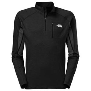 Snowboard The North Face Kannon Mens Mid Layer - For those extra chilly days throw on The North Face Kannon Midlayer. This hybrid zip works well with the Kannon Jacket for unmatched breathability and comfort and made with a moisture wicking merino wool blend that is lightweight and comfortable. Articulation in the elbow give you the mobility you need to stay comfortable and another great feature of the North Face Kannon Midlayer is it works great for those early fall days when there is a chill in the air. . Insulation Weight: None, Hood Type: None, Material: Interlock Wool with Polyester FlashDry Fiber, Fleece Weight: Light, Category: Mid-Weight, Hood: No, Warranty: Lifetime, Battery Heated: No, Type: Partial Zip Top, Wind Protection: No, Type: Turtlenecks and Layering, Weatherproof: Yes, Material: Wool/Synthetic Blend, Pockets: 1-2, Wicking Properties: Yes, Type: Long Sleeve, Water Resistant: No, Model Year: 2013, Product ID: 268267, Shipping Restriction: This item is not available for shipment outside of the United States. - $120.00