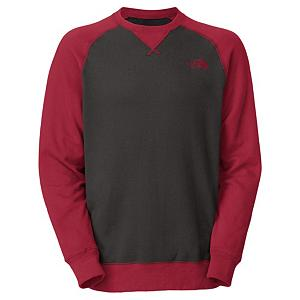 Snowboard The North Face Half Dome Crew Mens Mid Layer - Everyone needs a go to shirt and The North Face Half Dome Crew shirt wants to be that for you. This cotton, polyester fleece top is super comfortable and soft and will feel good wrapped around your body. The Half Dome Crew is super bold and stylish with a triangle overlay crew neck and different colored sleeves for extra style. This comfortable material is lightweight and not bulky so it will fit comfortably underneath your jacket on those super chilly days. The embroidered logo on The North Face Half Dome Crew adds to the all-around style. . Hood Type: None, Material: Cotton, Polyester Fleece, Fleece Weight: Light, Category: Light-Weight, Hood: No, Warranty: Lifetime, Battery Heated: No, Closure Type: Pull Over, Wind Protection: No, Type: Turtlenecks and Layering, Material: Synthetic, Pockets: None, Wicking Properties: No, Sleeve Type: Long Sleeve, Water Resistant: No, Model Year: 2013, Product ID: 282078, Shipping Restriction: This item is not available for shipment outside of the United States. - $24.95