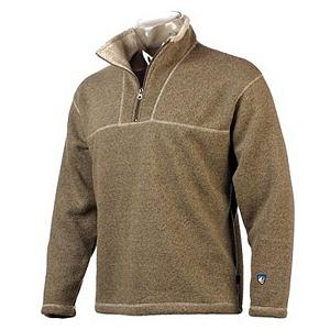 Snowboard Cotton is rotten in a winter sport that is why the ultimate technical pullover fleece is finally here.  The Kuhl Europa  1/4 zip is the essential technical mid-layer piece for any avid winter enthusiast.  The Europa is made of the material Alfpaca which is a blend of 78% Acrylic and 22% Polyester and is knitted with multi-toned yarns providing a rich look and feel.  Alfpaca provides users with durability and the ability to wick away moisture, dries quickly and is very resilient.  The collar of the Europa fleece is lined with shearling for added warmth on those cold winter days and nights.  Flatlock seams increase the strength of the material  and reduced bulk. YKK zippers for strength, toughness and the capability of temperature control.  The Europa  1/4 Zip Fleece is going to make feel like luxury when you were it.  Exclusive Alfpaca fleece knitted with multi-toned yarns providing a richness and depth not seen in other fabrics.,  Contrast stitching highlights athletic lines,  Flatlock seams for increased strength and reduced bulk.,  GTIN: 0631411175317, Model Number: 3017 OT S, Product ID: 293160, Model Year: 2017, Recommended Use: Casual, Water Resistant: No, Sleeve Type: Long Sleeve, Wicking Properties: Yes, Pockets: None, Material: Fleece, Type: Sweaters, Wind Protection: Yes, Closure Type: Partial Zip Top, Battery Heated: No, Warranty: One Year, Hood: No, Category: Mid-Weight, Fleece Weight: Mid, Material: Alfpaca fleece, Hood Type: None, Insulation Weight: N/A - $78.95