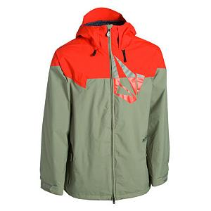 Snowboard Volcom Multi Stone Mens Shell Snowboard Jacket - Breathable and waterproof with an original, cool look, the Volcom Multi-Stone Snowboard Jacket has a list of features to help keep you performing at your peak. It boasts a strong 2-Layer Shell created with Volcom's own V-Science technology to keep the wintry elements remaining on the exterior instead of seeping inward. Keeping you warm when the winds howl is the 2-Way Adjustable Quick Cinch Hood, easy access gives you the opportunity to flip it up on the fly or tighten up quickly when you turn on the trail and face the wind. If you start to heat up you'll be able to open up the pit vents to cool down. Goggle Pocket, Noise Pocket and Handwarmer Pockets offer a place to store everything from your goggles to your fingers. The temperatures may be plummeting but you'll still want to venture outwards because you'll have the Volcom Multi-Stone Snowboard Jacket. . Exterior Material: V-Science 2-Layer Shell, Softshell: No, Insulation Weight: N/A, Taped Seams: Critically Taped, Waterproof Rating: 10,000mm, Breathability Rating: 10,000g, Hood Type: Fixed, Pit Zip Venting: Yes, Pockets: 4-5, Electronics Pocket: Yes, Goggle/Sunglasses Pocket: Yes, Powder Skirt: Yes, Bearing Grade: Recreational, Hood: Yes, Warranty: Other, Use: Snowboard, Battery Heated: No, Race: No, Rain Jacket: No, Type: Shell, Cut: Regular, Length: Long, Insulation Type: None (Shell), Waterproof: Moderately Waterproof (5000mm-19,999mm), Breathability: High Breathability (9000g-15,000g), Cuff Type: Velcro, Wrist Gaiter: No, Waterproof Zippers: No, Cinch Cord Bottom: No, Insulator: No, Model Year: 2012, Product ID: 257042, Model Number: G06511S1 MOS S, GTIN: 0885622630855 - $49.93