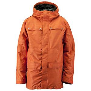Snowboard Ride Rainier Mens Shell Snowboard Jacket - A great fit, designed just for men, genuine quality shell jacket. This Rainier Jacket designed by Ride is eye catching, and a great choice for boarders. You will need to layer up when the temperatures get cold. There are four large front pockets for you to stash your stuff and other pockets like the inner media, the inner mesh goggle and front micro-fleece lined toaster pockets for added convenience. The attached powder skirt with a lycra stretch panel provides extra mobility as well as keeping you protected while keeping the outside unwanted snow out. The adjustable velcro cuffs, the one-handed draw cord adjustment and the inner lycra hand gaiters will let you adjust to your liking for a custom fit just for you each time that you take to the powder. If you are seeking the max in your performance, this 15,000mm waterproof and 10,000g of breathability will allow for you to be in any all-terrain area while remaining dry, comfortable and warm with the perfect balance of fashion and function Features: Bottom One-Handed Draw Cord Adjustment Hidden Inside Front Pockets, Lift Ticket Self-Fabric Loop, Front Micro-Fleece Lined Toaster Pockets, Plaid Inner Flannel Lining. Insulation Weight: Shell Jacket, Taped Seams: Fully Taped, Waterproof Rating: 15,000mm, Breathability Rating: 10,000g, Hood Type: Fixed, Pit Zip Venting: Yes, Powder Skirt: Yes, Warranty: One Year, Battery Heated: No, Insulation Type: Synthetic, Waterproof: Moderate Waterproofing (10,001 - 15,000mm), Breathability: Mild Breathability (5,001 - 10,000g), Cuff Type: Velcro, Wrist Gaiter: Yes, Waterproof Zippers: Yes, Cinch Cord Bottom: Yes, Model Year: 2013, Product ID: 284316, Shipping Restriction: This item is not available for shipment outside of the United States., Model Number: R1211023022, GTIN: 0714636960576, Insulator: No, Length: Long, Jacket Fit: Regular, Type: Shell, Race: No, Use: Snowboard, Hood: Yes, Goggle/Sunglasses Pocket: Yes, Electronics Pocket: Y... - $99.89