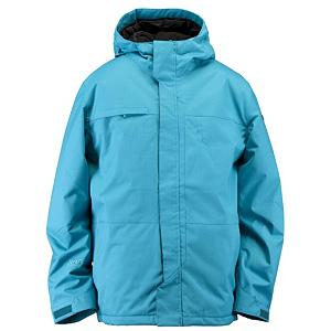 Snowboard Ride Gatewood Mens Shell Snowboard Jacket - If you are rough on your outerwear jackets especially when you are snowboarding in terrains that are rough and you want a tough jacket that will cover all of your snowboarding needs, this Gatewood Shell Snowboard Jacket designed by Ride is the jacket to own. The Dobby 100% Nylon fabric is durable, yet has a supple texture that possesses an incredibly soft feel. This Hydrapel fabric has a 10,000mm waterproof rating and 5,000g of breathability that offers you the functioning needs for protection. This fabric has been treated with DWR which is a durable water repellent finish that will keep you protected from the outside elements while you remain dry, warm and comfortable as you tackle the park, the pipe or the backcountry with protection and high end style in any type of weather condition. The attached powder skirt with loops that snap to the pants along with the adjustable cuffs and the bottom one-handed draw cord adjustment will keep out the un-wanted snow from entering if you are a beginner to the more novice boarder. There are front micro-fleece lined toaster pockets that will maximize the superior warmth and style that has been thoroughly thought out for you in this Ride Gatewood Mens Shell Snowboard Jacket that have been designed just for men with the perfect balance of fashion and function all season long. Features: Bottom One-Handed Draw Cord Adjustment, Lift Ticket Self-Fabric Loop, Front Micro-Fleece Lined Toaster Pockets. Exterior Material: Hydrapel with DWR, Insulation Weight: Shell, Taped Seams: Critically Taped, Waterproof Rating: 10,000mm, Breathability Rating: 5,000g, Hood Type: Removable, Pit Zip Venting: Yes, Pockets: 6-7, Electronics Pocket: Yes, Goggle/Sunglasses Pocket: Yes, Powder Skirt: Yes, Hood: Yes, Warranty: One Year, Use: Snowboard, Battery Heated: No, Race: No, Type: Shell, Cut: Regular, Length: Long, Insulation Type: None (Shell), Waterproof: Moderately Waterproof (5000mm-19,999mm), Breathabilit - $99.95