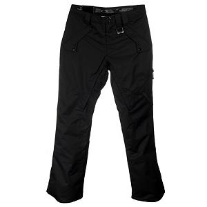 Snowboard Oakley Side Freight Mens Ski Pants - Package your look with the stylish Side Freight Pants by Oakley. Side Freight's Polyester Oxford construction gives the pant a polished look with an edgy cut and design that is one of a kind. But the awesome doesn't stop there. The Side Freight is an insulated pant, filled with 80gms of moisture-wicking, heat-trapping 3M Thinsulate and comes equipped with a 10k rating in waterproofness. Fully taped, the Side Freight keeps water from leaking in through the seams and for the ultimate in protection, snap in your Oakley jacket to the snow skirt to complete your snow suit of armor. A comfortable, adjustable waistband makes each fit perfect while Oakley's re-vamped Regular Fit creates shape to the pant without sacrificing you or the pants performance. Inner thigh vents offer user-controlled air conditioning when needed, boot gaiters slide easily over boots to keep out snow and a pant cuff saver protects against parking lot carnage. When you're rocking the Oakley Side Freight, the mountain is all yours. Features: Silicone Waistband and Adjustable Waist Tabs, Boot Gaiters, Hem Gusset, and Pant Cuff Saver. Insulation Weight: 3M Thinsulate, 80gms, Taped Seams: Fully Taped, Waterproof Rating: 10,000mm, Breathability Rating: 15,000g, Full Zip Sides: No, Thigh Zip Venting: Yes, Suspenders: None, Articulated Knee: No, Warranty: One Year, Waterproof: Moderately Waterproof (5000mm-19,999mm), Breathability: High Breathability (9000g-15,000g), Lining Material: Nylon, Waist: Adjustable, Model Year: 2011, Product ID: 205850, Model Number: 421355K 001 S, GTIN: 0883889899091, Pockets: 3-4, Cut: Regular, Type: Insulated, Use: Ski, Race: No, Cargo Pockets: Yes, Scuff Guards: No, Lower Cuff Adjustment: None, Pockets: 4-6, Softshell: No, Lining: Yes, Exterior Material: Laminated Polyester Oxford - $49.99