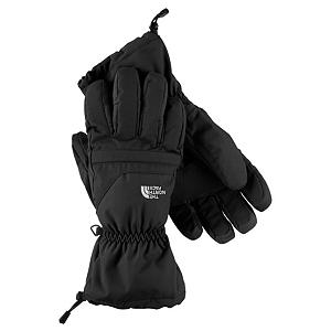 Snowboard The North Face Etip Facet Ski Gloves - The North Face has added a warm and waterproof shell to their famous Etip Glove to create this, The North Face Etip Facet Glove. This gloves features a HyVent Shell and Insert which is highly waterproof and very breathable. As a skier, snowboarder or just winter outdoors enthusiast, you'll embrace the warm, dry hands while remaining active. To help keep you warm there is Heatseeker Insulation on both the back of the hand and the palm to ensure that the warmth stays inside and the cold on the outside. With the Etip Facet Glove you get a 5 Dimensional Fit and Radiametric Articulation so that you can have a desirable comfort level and relaxed feeling regardless of your hand size. When the cold weather strikes and you have an itch to head out to the mountain, put on a pair of The North Face Etip Facet Gloves and keep your hands warm, cozy and comfy. Features: Storm Door Cuff Gasket, Super-Warm Fourchette-Box Finger Construction. Removable Liner: No, Material: HyVent 2L, Warranty: Lifetime, Battery Heated: No, Race: No, Type: Glove, Use: Ski/Snowboard, Wristguards: No, Outer Material: Nylon, Waterproof: Yes, Breathable: Yes, Pipe Glove: No, Cuff Style: Over the cuff, Down Filled: No, Model Year: 2013, Product ID: 270108, Shipping Restriction: This item is not available for shipment outside of the United States. - $85.00