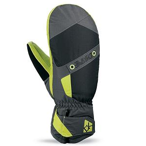 Snowboard Dakine Fillmore Ski Mittens - Designed so you can get outside in the cold and still enjoy yourself comes the Dakine Fillmore Mittens. The Fillmore is made with a Weathershield Nylon that is treated with a Durable Water Repellent (DWR) finish that acts as an initial barrier to moisture. By keeping the moisture out it aides on providing dry and warm hands. Combined with the waterproof polyurethane inserts and High Loft synthetic insulation your hands will be toasty warm and dry no matter how cold the weather gets outside. Fleece lining makes the Fillmore Mitt a comfortable pair of gloves and a nose wipe on the thumb panels allows you to take care of that runny nose you are sure to get. . Removable Liner: No, Material: Weathershield Nylon with DWR treatment, Warranty: One Year, Battery Heated: No, Race: No, Type: Mitten, Use: Ski/Snowboard, Wristguards: No, Outer Material: Nylon, Waterproof: Yes, Breathable: Yes, Pipe Glove: No, Cuff Style: Under the cuff, Down Filled: No, Model Year: 2013, Product ID: 282599 - $50.00