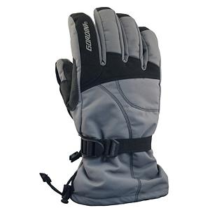 Snowboard Gordini Aquabloc Down Gauntlet II Gloves - With the Gordini Aquabloc Down Gauntlet II Ski Gloves you'll be protected from the frigid winter temperatures, howling winds and heavy snow thanks to the heavy denier fabrics with 3 later thermal ply, Naturaloft, Megaloft and Aquabloc. The exterior materials are waterproof, windproof and breathable and the Naturaloft Insulation is lightweight and not bulky so you'll remain very comfortable all day. The Hydrowick Microdenier lines the interior to help absorb moisture in the glove and the Aquabloc seam-sealed insert makes your gloves ultra breathable, waterproof and windproof so the sweat and moisture inside can be evaporated towards the exterior quickly. Aquabloc is exclusively engineered for handwear, a technology that allows moisture accumulated from within the glove to escape and provide breathability and enhanced warmth and comfort. The Gauntlet Cinch Closure tightens up so you don't have any exterior precipitation from entering and so heat doesn't escape. For comfort, warmth and dry hands go with the reliable Gordini Aquabloc Down Gauntlet II Ski Gloves. Features: Aquabloc Insert. Warranty: One Year, Battery Heated: No, Wristguards: No, Breathable: Yes, Cuff Style: Over the cuff, Touch Screen Capable: No, Model Year: 2014, Product ID: 288486, Model Number: 4G2137 GUNBLK M, GTIN: 0061492513782, Down Filled: Yes, Pipe Glove: No, Waterproof: Yes, Outer Material: Nylon, Use: Ski/Snowboard, Type: Glove, Race: No, Material: Heavy Denier fabric with 3 Layer Thermal Ply, Removable Liner: No - $50.00