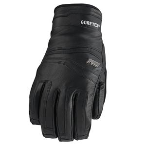 Snowboard POW Stealth GTX Gloves - Fly by gapers and everyone else with ease on the mountain with a versatile leather glove ready to go mock speed down the hill. The Pow Stealth GTX Glove is perfect for cold winter days filled with cold, harsh conditions. Goatskin leather shell and palm resists abrasions and well break in over time, improving the fit the longer you wear them. The waterproof/breathable Gore-Tex insert keeps your hands dry and the super-warm Primaloft One insulation get your hands warmer, allowing you to ride longer. Ultra Magic no snag closure system makes life easy for riders when taking off and putting on the Stealth GTX. The Stealth GTX is the perfect glove for any rider looking be bold on the mountain. . Removable Liner: No, Material: Primaloft, Warranty: One Year, Battery Heated: No, Race: No, Type: Glove, Use: Ski/Snowboard, Wristguards: No, Outer Material: Leather, Waterproof: Yes, Breathable: Yes, Pipe Glove: No, Cuff Style: Under the cuff, Down Filled: No, Touch Screen Capable: No, Model Year: 2013, Product ID: 292610 - $49.99
