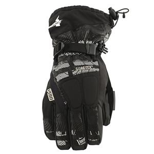 Snowboard POW Tormenta GTX Gloves - A glove should protect your fingers from melting snow, bone-chilling temps, and everything else you encounter during your many laps down from the summit. Unfortunately not every glove holds to those standards but Pow Glove do. The Tormenta GTX glove is the perfect all-weather glove for you this winter. The shell of the Tormenta is a DWR coated premium fabric for increased breathability and abrasion resistance, perfect for any mountain rider. Rubber-Tex is a durable palm material that provides a much needed tack for grip. Keep your hands warm with Primaloft, Primaloft is a microfiber structure in the glove that helps the hands retain warmth while outside in cold conditions. The Tormenta GTC Glove makes all other gloves look like a driving glove. Features: Insulation- 4oz Primaloft ONE. Removable Liner: Yes, Material: Primaloft, Warranty: One Year, Battery Heated: No, Race: No, Type: Glove, Use: Ski/Snowboard, Wristguards: No, Outer Material: Nylon, Waterproof: Yes, Breathable: Yes, Pipe Glove: No, Cuff Style: Over the cuff, Down Filled: No, Touch Screen Capable: No, Model Year: 2013, Product ID: 292631 - $80.00