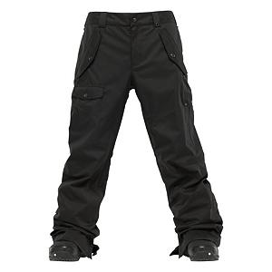 Snowboard Burton Indecent Exposure Mens Snowboard Pants - Expose your skills and tricks decently in the Burton Indecent Exposure Snowboard Pants. Outfitted with DRYRIDE Durashell 2-Layer Coated Fabric, you'll have a pair of snowboard pants that will keep the wintry elements from seeping inside but without the bulk. These highly breathable snowboard pants have a relaxed fit without being overly baggy. A micro-porous coating applied directly to the backside of the DWR-Finished outer fabric provides that extra bit of waterproof/breathable performance. Part of Burton's Shaun White Collection, keep yourself covered with the Indecent Exposure Snowboard Pants. . Exterior Material: DRYRIDE Durashell, Softshell: No, Insulation Weight: N/A, Taped Seams: Fully Taped, Waterproof Rating: 10,000mm, Breathability Rating: 10,000g, Full Zip Sides: No, Thigh Zip Venting: Yes, Suspenders: None, Articulated Knee: No, Cargo Pockets: Yes, Warranty: Lifetime, Race: No, Waterproof: Moderately Waterproof (5000mm-19,999mm), Breathability: High Breathability (9000g-15,000g), Use: Snowboard, Type: Shell, Cut: Regular, Lining Material: Mesh, Waist: Beltloops, Pockets: 5-6, Model Year: 2012, Product ID: 241314, Shipping Restriction: This item is not available for shipment outside of the United States. - $89.93